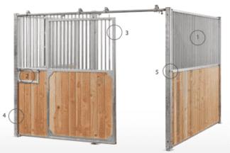 Paardenbox Galeno - bouwpakket